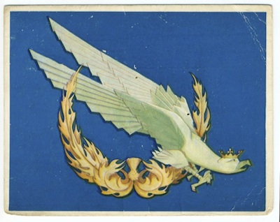 my father's military ID card (legitymacja), with the Polish eagle and Scottish thistle
