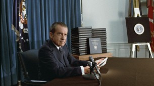 US president Richard Nixon. (photo credit: National Archives & Records Administration, public domain)