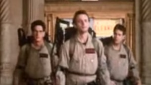 The late Harold Ramis (L) as Dr. Egon Spengler in 'Ghostbusters' (Photo credit: via YouTube)