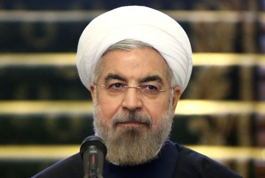 Iranian President Hassan Rouhani, April 9, 2014. (photo: AP/Ebrahim Noroozi)