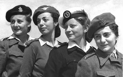 Description English: Women officers in the IDF, 1950 Date23 March 1950 SourceNational Photo Collection http://147.237.72.31/topsrch/datafile/wwwm1690.gif AuthorBRAUNER TEDDY Public Domain
