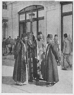 Jews of Salonika. This image  is in the public domain because its copyright has expired.