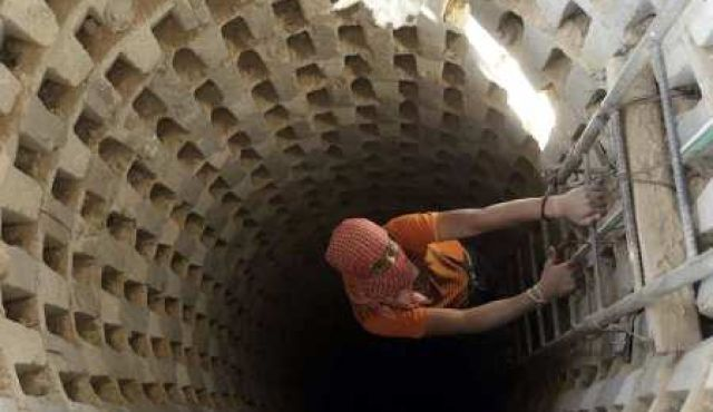 A Tunnel in the Gaza Strip