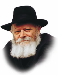 Rabbi Menachem Mendel Schneerson, known as the Lubavitcher Rebbe