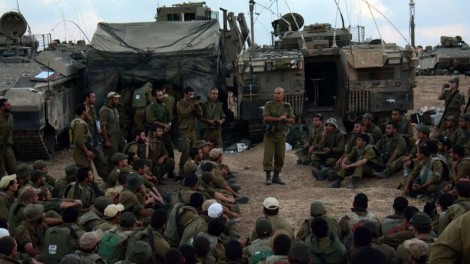 IDF soldiers search for terror tunnels in Gaza. PHOTO: IDF spokesman unit. CC-Wikipedia