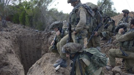 The IDF continues to search for hidden terror tunnels in the Gaza Strip, used by Hamas to carry out attacks on Israelis.