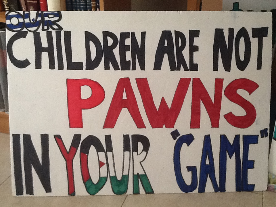 Sign from the Unity Rally, 2014
