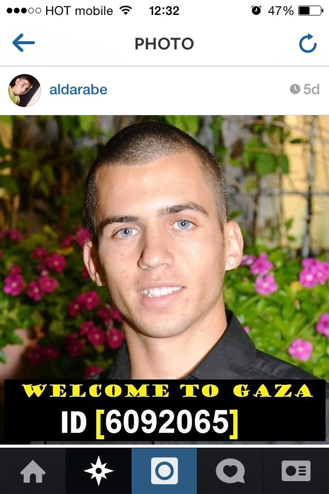 Welcome to Gaza Source: Instagram