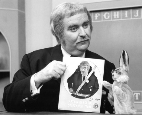 Bob Keeshan Captain Kangaroo 1970 (From Wikipedia, Public Domain)