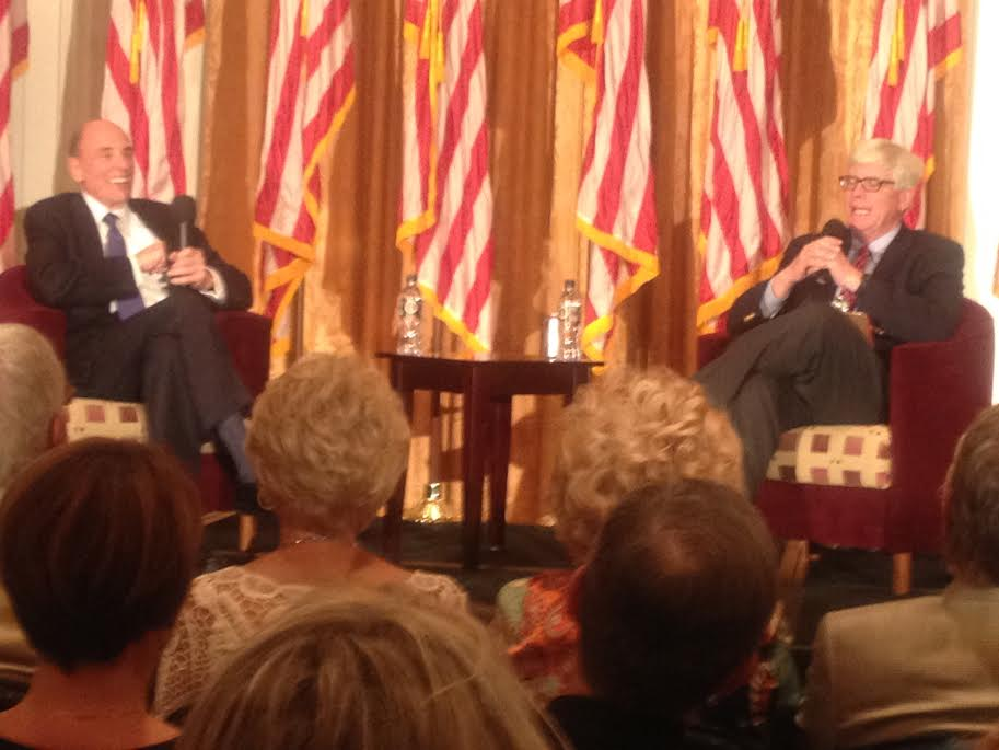 From R-Hugh Hewitt & Edward Klein - during Q & A