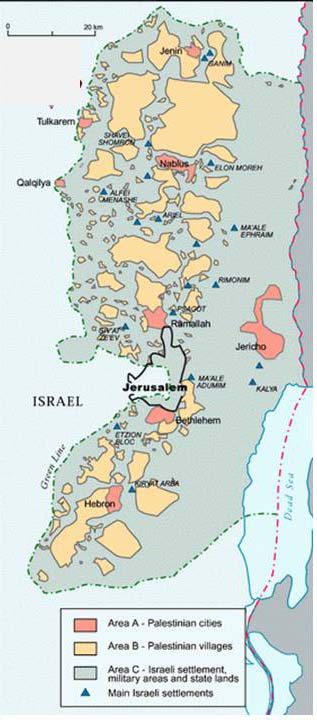 Can the current situation in israel and palestine be compared to apartheid