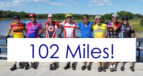 102 Miles with Banner
