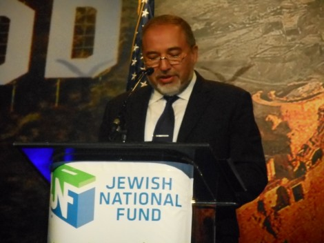 FM Avigdor Lieberman-Photo by Nurit Greenger