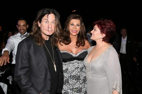 From L-Ozzy Osbourne, Linell Shapiro, Sharon Osbourne-Photo Orly Halevy