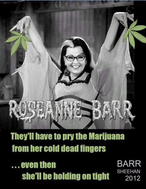 I'd vote for you Roseanne.