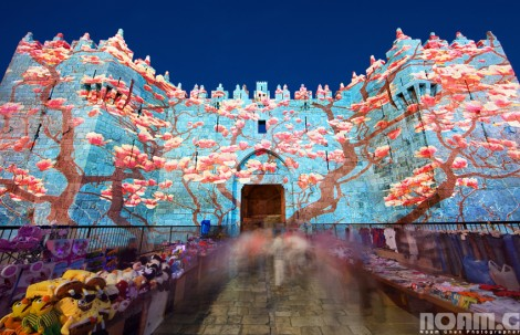 damascus gate festival of light jerusalem