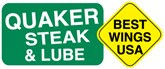 Quaker Steak & Lube, wings so good when was the last steak they sold?