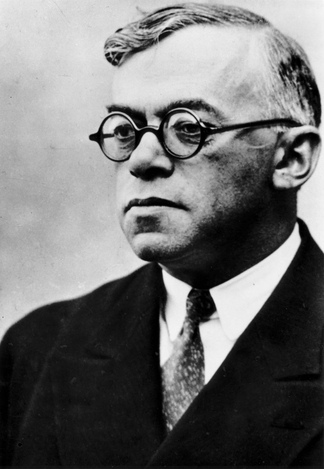 Zeev Jabotinsky, an Israeli founding father associated with the Israeli right.