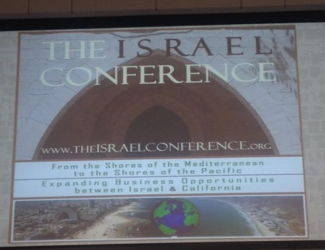 Israel Conference Banner-Photo Nurit Greenger
