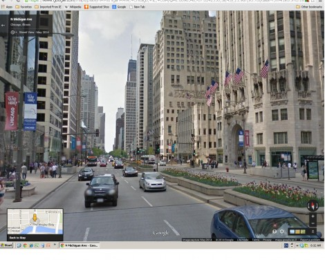 N. Michigan Ave. (Google Street View)
