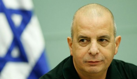 Yuval Diskin, head of the Shin Bet 2005-2011