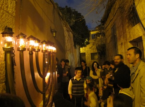 Razel Family and Guests, Nachlaot © 2014 by Heddy Abramowitz