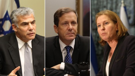 From L-Lapid, Herzog, Livni