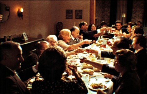 "Thanksgiving scene from Barry Levinson's 1990 film ""Avalon"""