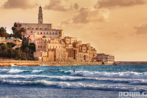 jaffa old city and beach Israel