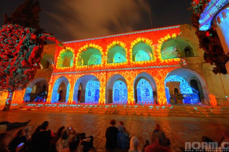 festival of light in jerusalem Israel