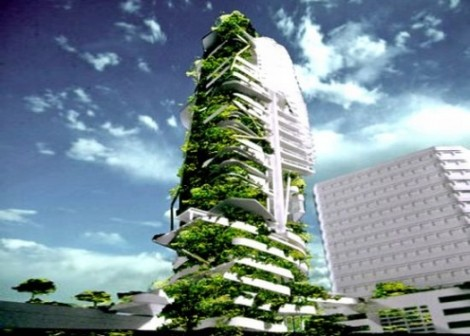 Vertical Farms - Courtesy of Dean Petrich