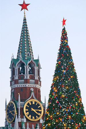 Christmas Tree in Kremlin