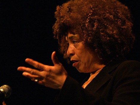 Angela Davis speaking at the University of Alberta, March 2006 (Photo via Wikipedia)