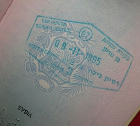 Best stamp ever on my baby passport.
