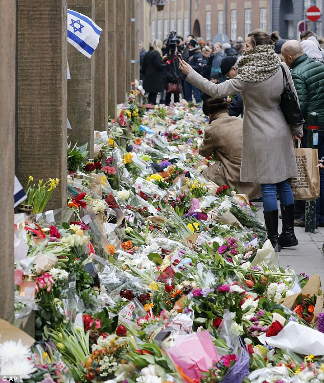 Danish Jews and non-Jews alike unite in the aftermath of the Copenhagen shooting.