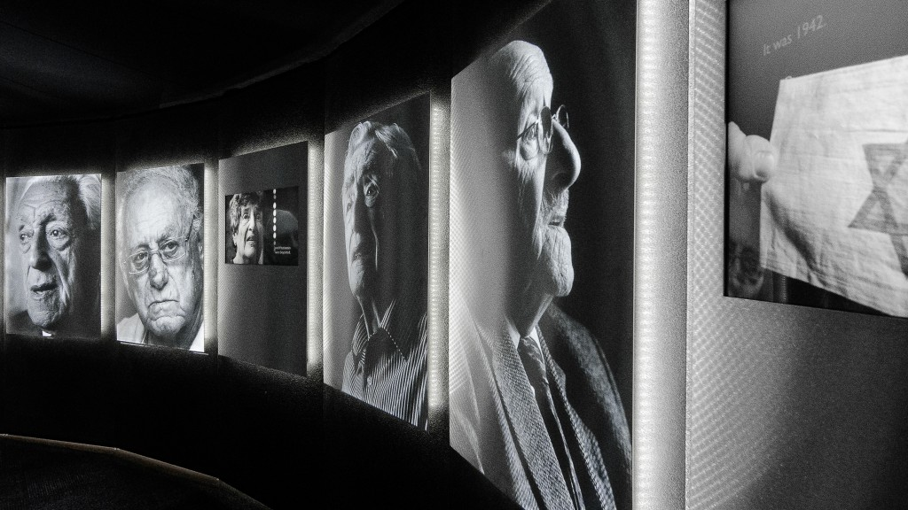 Holocaust survivors featured in the Shadows of Shoah Exhibition