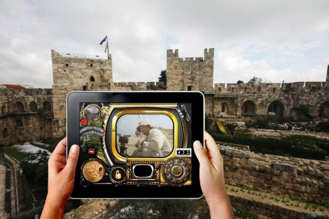 Swipe the Citadel. The Gamers at The Tower of David