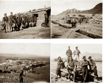 Photos taken by Sinforiano Rodriguez, Spanish worker  and camp survivor of Bou Arfa.