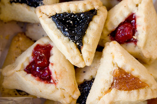 photo of hamentashen