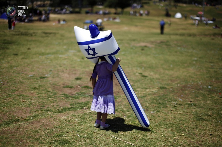 Celebrating Israel's independence from a young age