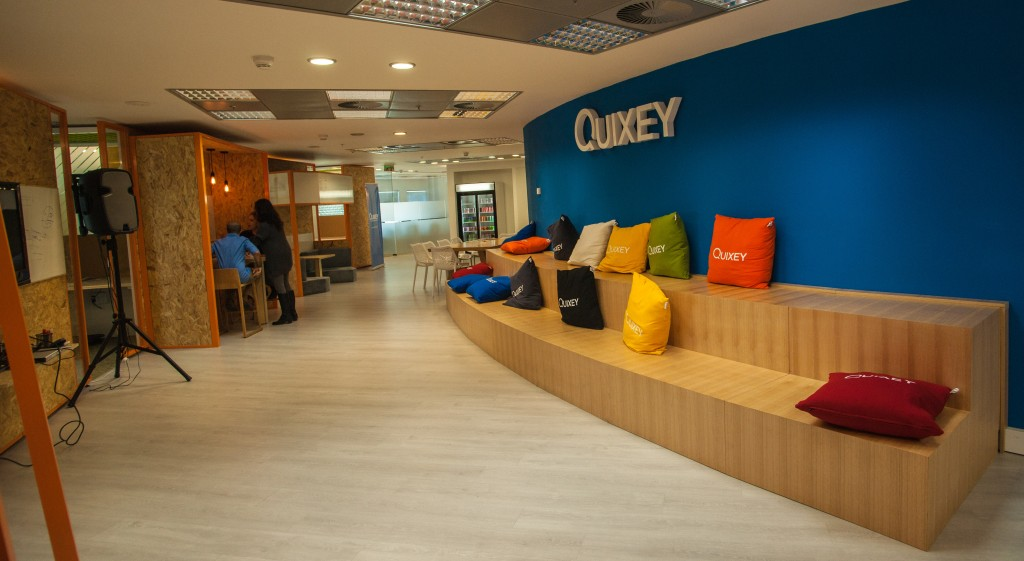 Welcome to Quixey's Tel Aviv office in the Azrieli Center.