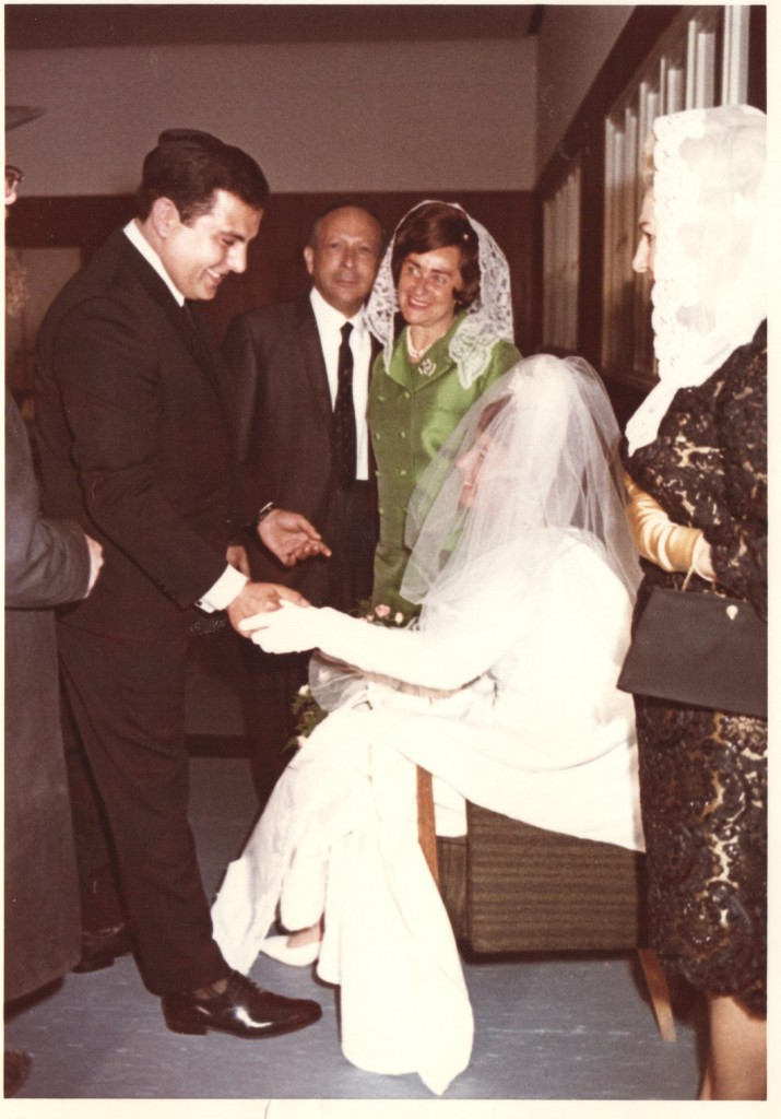 My parents wedding: April 23, 1967