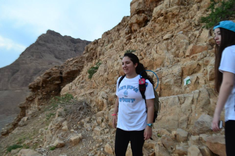 Me on the way up to the top of Masada