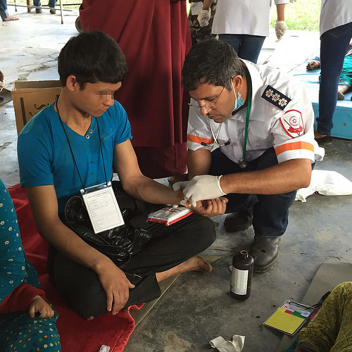 MDA aid mission in Nepal  (Photo: MDA Spokesperson)