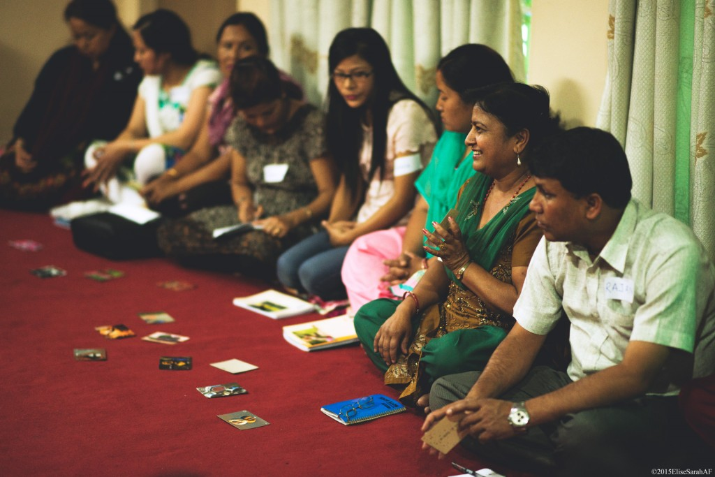 IsraAID teacher training Psycho-Social Support program in Kathmandu.  (Photo: IsraAID)