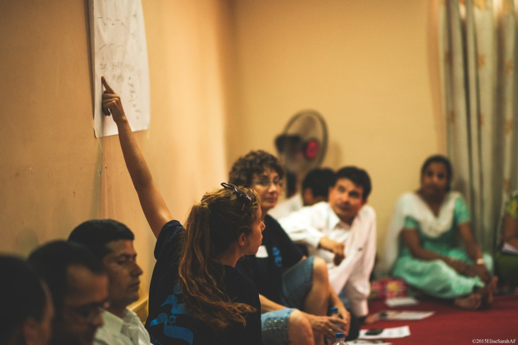 IsraAID Conducts Psycho-Social Support Training for Teachers in Kathmandu.  (Photo: IsraAID)