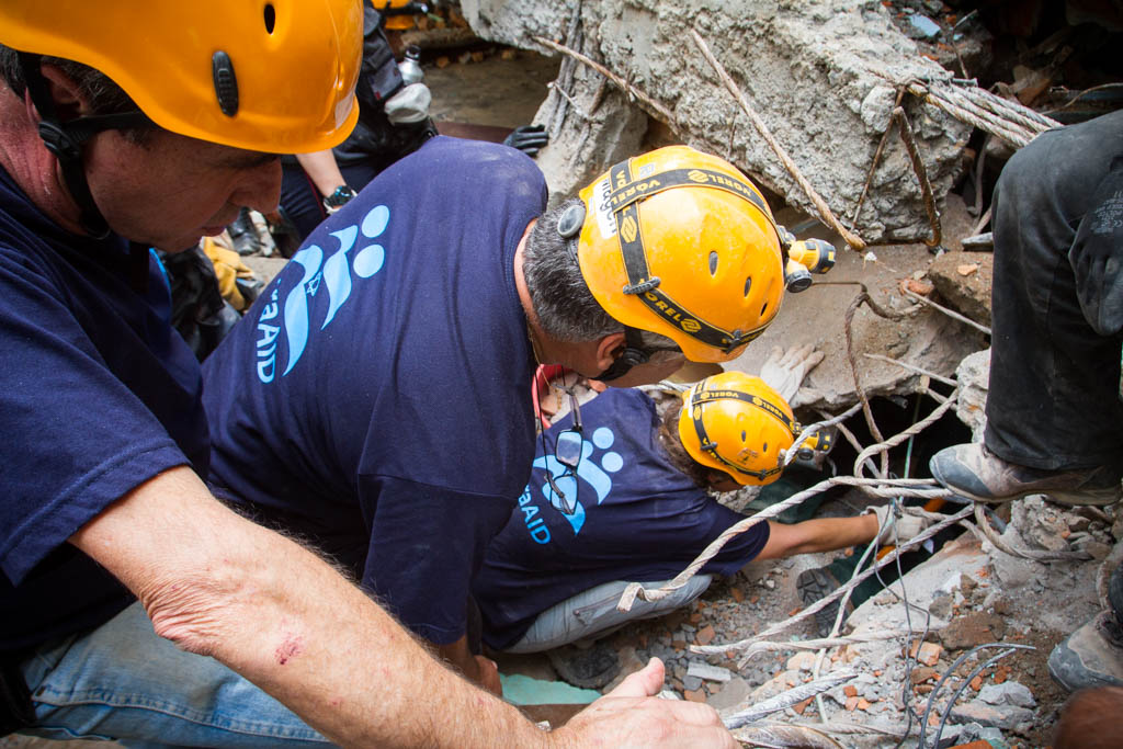 IsraAID Search and Rescue Team