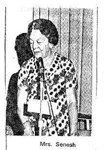 Madame Szenes was guest of honor at the launch of the Diaries in London on August 26th 1971.