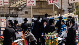 Pessah at Mea Shearim-12
