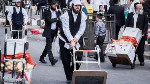 Pessah at Mea Shearim-14
